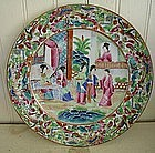 Chinese Export Famille Rose Luncheon Plate, c. 1830