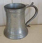 Reed & Barton Glass Bottom Pewter Mug, c. 1930