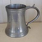 Reed & Barton Glass Bottom Pewter Mug, c. 1930