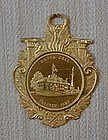 Gilt Bronze Fireman's Medal of Manor Hall, c. 1935