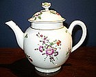 English Worcester Porcelain Tea Pot, c. 1770