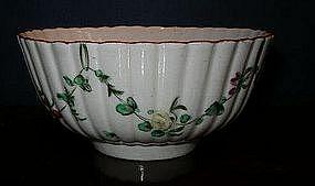 Very Rare English Bristol Porcelain Bowl, c. 1770