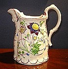 English Molded Pottery Jug, c. 1830, Dodson