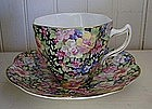 English Rosina Bone China Cup & Saucer, c. 1930-50