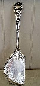 English Victorian Sheffield Silver Plated Crumber 1866