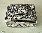 18th Century Continental Silver Snuff Box, c. 1780