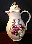 German Meissen Porcelain Coffee Pot, c. 1790