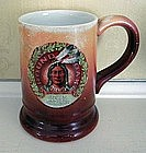 American Advertising Porcelain Mug, dated 1907