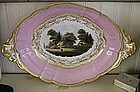 English Worcester Barr, Flight, Barr Fruit Bowl, 1807