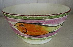 English Creamware Bowl, c. 1780