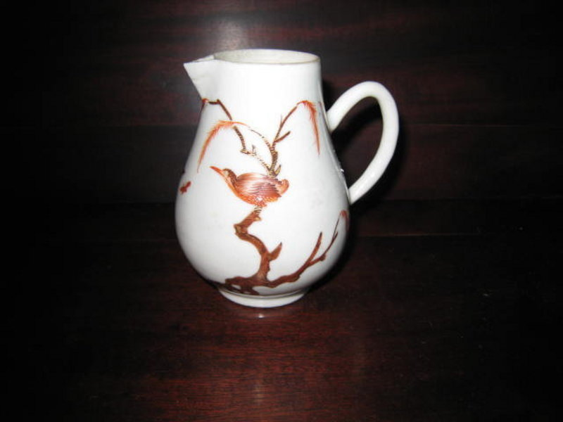 Chinese Export Porcelain Sparrow Beak Pitcher, c. 1770