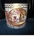 Large Derby Porcelain Porter Mug, c. 1805