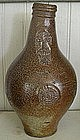 Late 17th Century German Ballarmine Salt Glaze Jug
