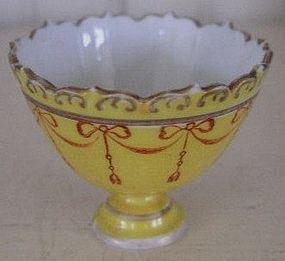 Marcolini Meissen Porcelain Footed Egg Cup, c. 1780