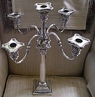 Gorham Sterling Five Light Candleabra, c. 1920-30