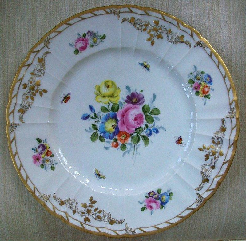 Royal Berlin Porcelain Service Plate, c. 1900