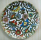 Vienna Porcelain Plate by Vafer, second half of 19th C