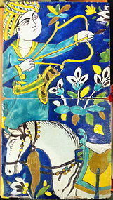 PERSIAN SAFAVID PAIR OF TILES !SPECIAL REDUCED PRICE!