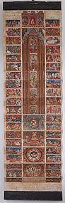 BURMESE ILLUSTRATED BUDDHIST MANUSCRIPT