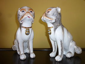 CHINESE CERAMIC DOGS