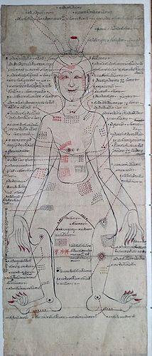THAI MEDICAL MENUSCRIPT