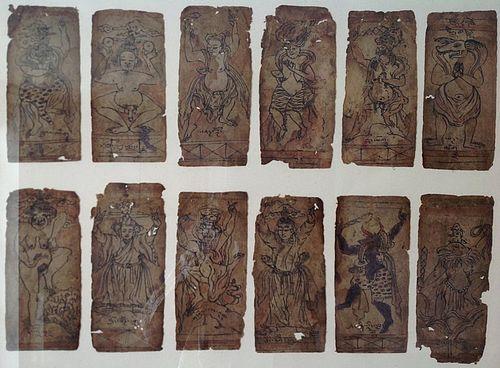 TIBETAN SET OF CARDS