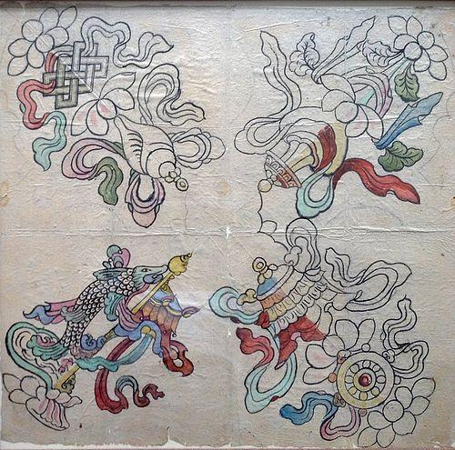 MONGOLIAN BUDDHIST SYMBOLS