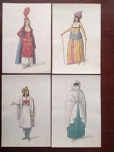 TURKISH COSTUMES 1814