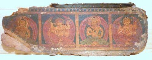 TIBETAN PAINTINGS 17TH CENTURY
