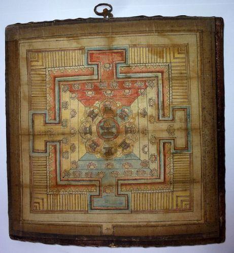 TIBETAN/MONGOLIAN MANDALA