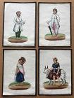 INDIAN  19th cent PAINTING set of 4