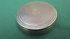 Puiforcat 1st standard silver box