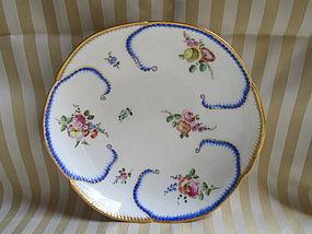 Sevres salad bowl �feuille de choux� 1758
