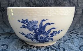Royal Copenhagen Blue & White bowl c. 1780