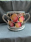 Large Wemyss fruit decorated tyg early 20th century