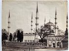 Albumen photo Sultan Ahmed Mosque, Istanbul P. Sebah c. 1880