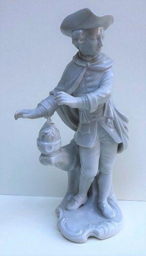 Furstenberg porcelain figure of winter c. 1900