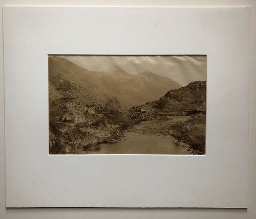 Albumen photo Scottish Highlands, Loch Duich G.W. Wilson c. 1880