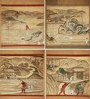 suite of 8 kakejiku depicting Hell