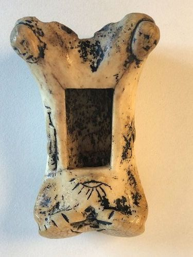 Shamanic Inuit or Ipuitak bone container