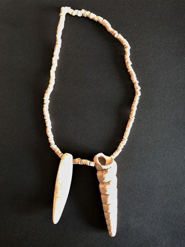 lot of mayan shell beads