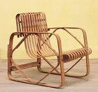 bamboo child chair by Shibayama Sangyo