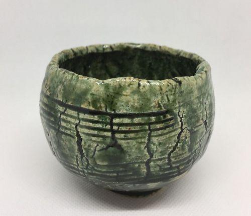Oribe Guinomi cup by Yu Nishioka