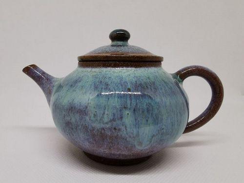 Kyusu teapot by Toshi Munakata