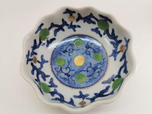 Kyo ware bowl by Kyoko Kobayashi