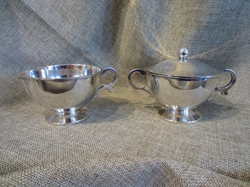 Sterling Silver Cream & Sugar Set by Sanborns