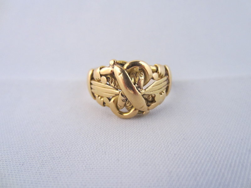 Birmingham 1908 Knot Ring in 18k Yellow Gold