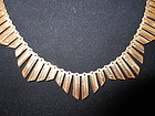 Vintage, English 9k Collar Necklace
