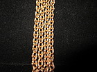 18k Rose Gold Fancy Link Chain