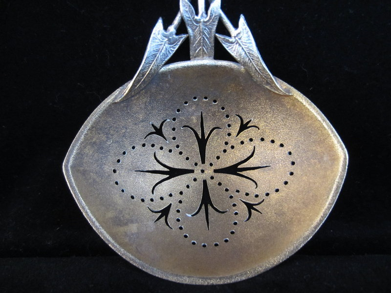 Whiting Calla Lily Sterling Silver Server